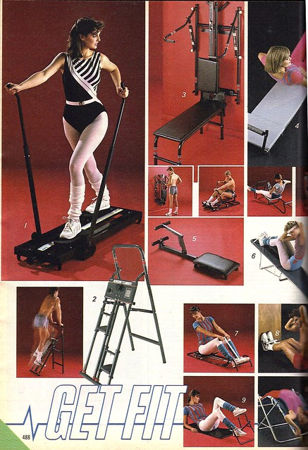 Get Fit- sears workout machines 1986