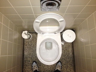 toilet   by dirtyboxface