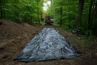 Earth Stablization Fabric for Road | by goingslowly