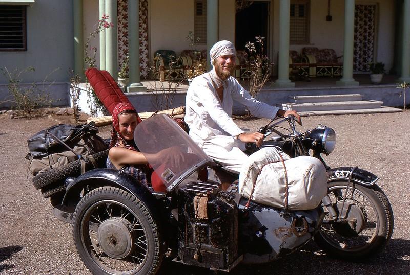 Overlanders, Jaipur, India, 1969