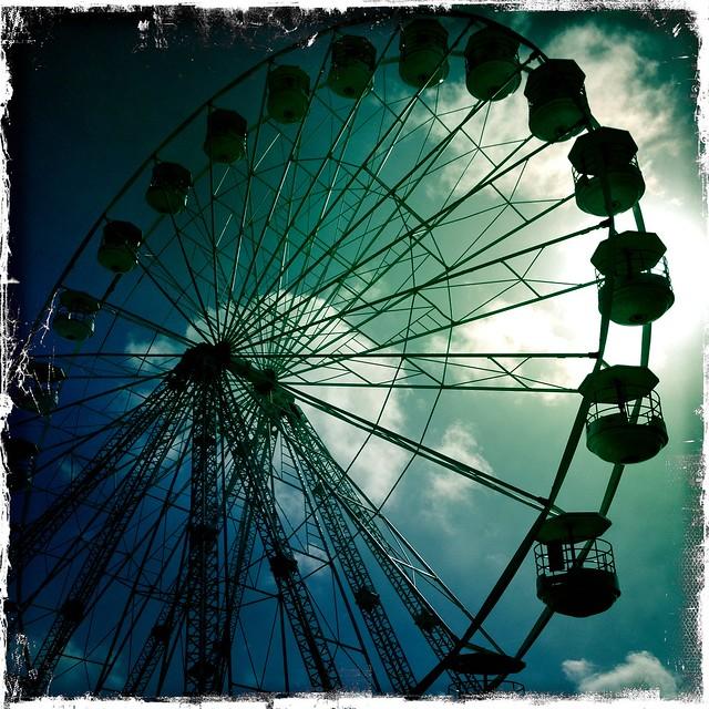 2013 isle of wight festival - iphone photo-blog - IMG_1670 - Big wheel