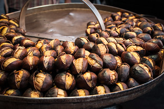 Roasted chestnuts   by michellerlee