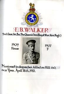 Walker, Edmund Basil (1888-1915) | by sherborneschoolarchives