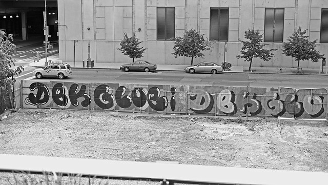 Empty Lot Graff : DEK x GLUGI