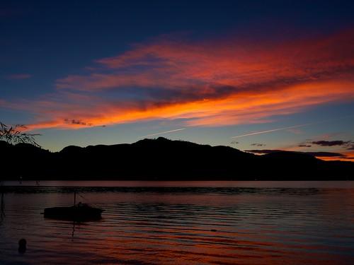 sunset night washington cloudy osoyoos oroville