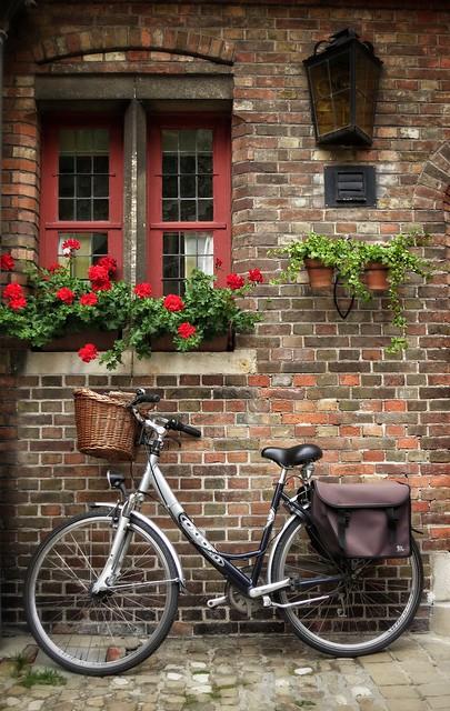 Bike in Bruges