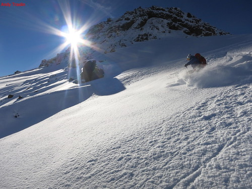 Mon, 2013-07-22 13:46 - Chile , Andes. skier Mike Traslin. photo Andy Traslin