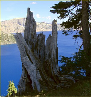 "Crater Lake NP, OR ""Ancient Observer"" 8-28-13q 