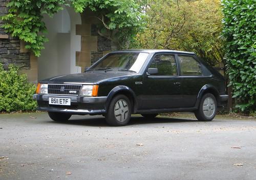 1984 Vauxhall Astra GTE | by Spottedlaurel