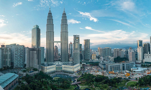 Petronas Towers Sunset Panorama | by Luke Robinson