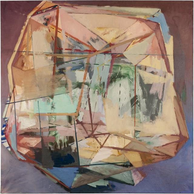 Pauli Principle, 120 x 120 cm, Eitempera,Acryl/Pigmente, 2013