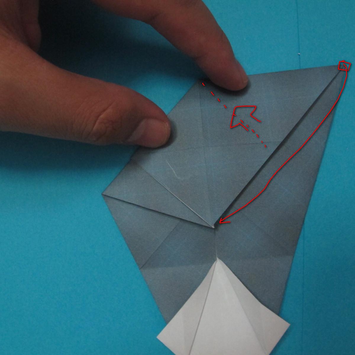 วิธีการพับกระดาษเป็นรูปนกเค้าแมว 014