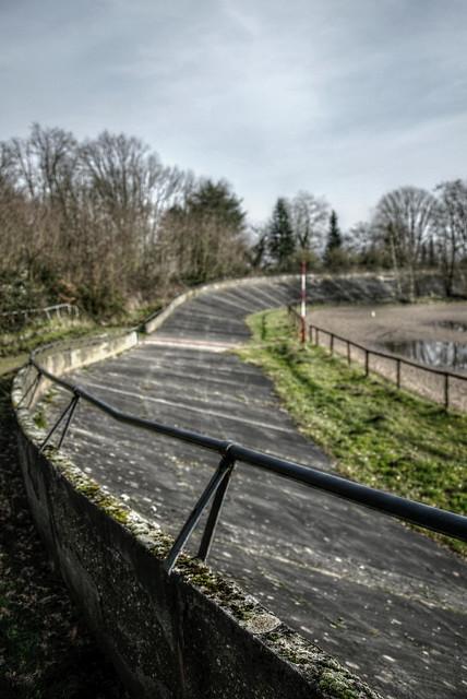 Abandoned velodrome