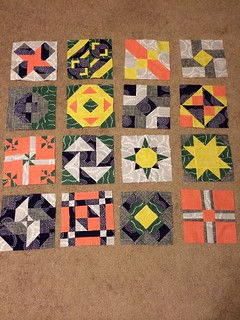 Virtual quilting bee - still deciding on a layout.