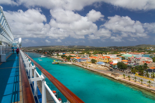 View of Bonaire from the Cruise Ship | by chris favero