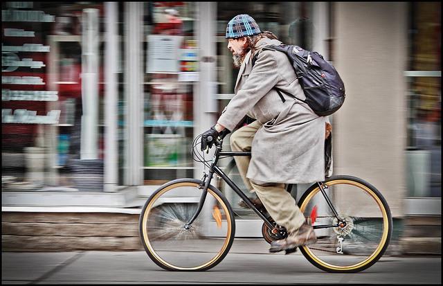 Flat Tire Cyclist 20-100