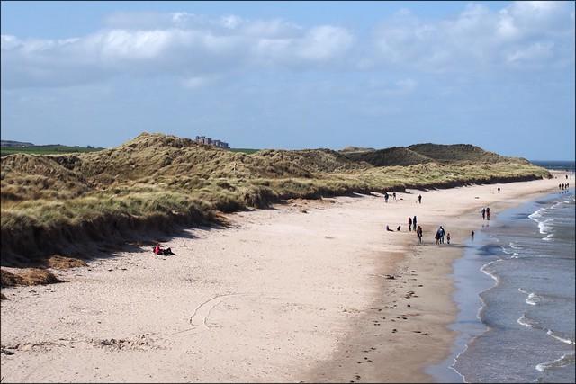 St Aidan's Dunes, Northumberland