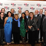 Thu, 08/05/2014 - 6:16pm - The WFUV music staff with 2014 Artist of the Year Mavis Staples. At Gotham Hall, NYC, May 8, 2014. Photo by Chris Taggart