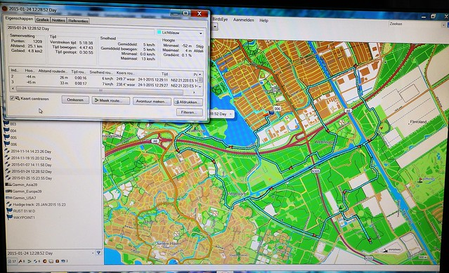 24-01-2015 Winterdag 25 Km Almere   (54)