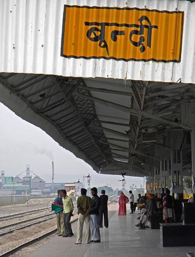 Bundi train station (India)