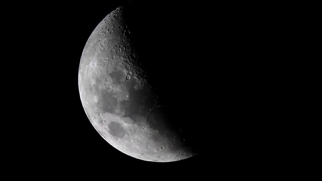 Moon - 1st quarter