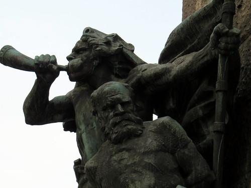 Grunwald statue - Krakow, Poland - Cracow, Polska | by David Berkowitz