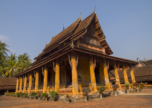 Vat Sisaket, Vientiane, Laos | by Eric Lafforgue