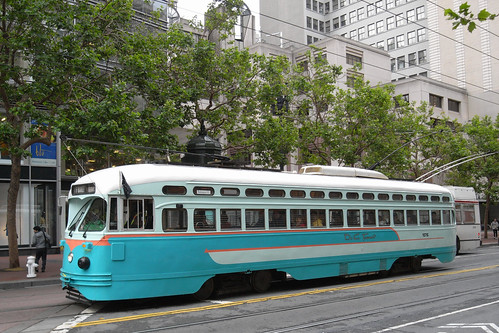 Tram on Market Street, San Francisco | by Dave Reynolds