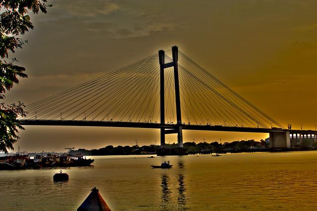 Bridge across the Ganges