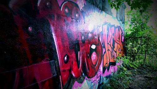 Backyard Graffiti (Mile End, Montreal, QC)