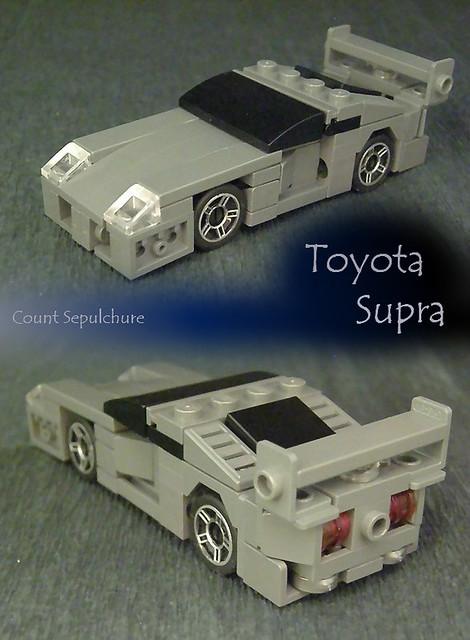 Toyota Supra 4-wide