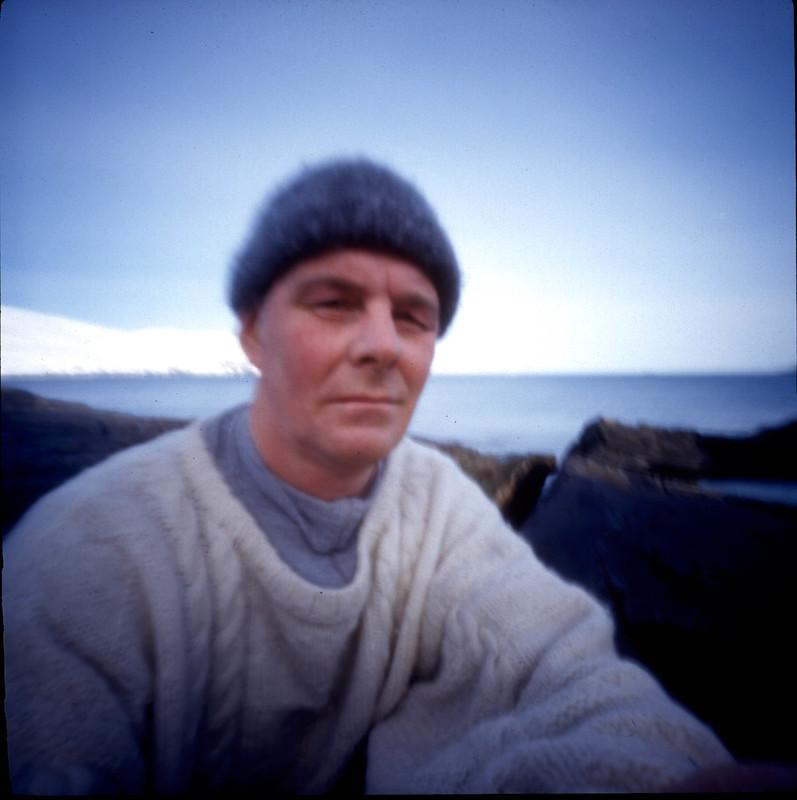 Self Portrait with pinhole