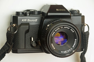 Ricoh KR-5 Super II | by TAZMPictures