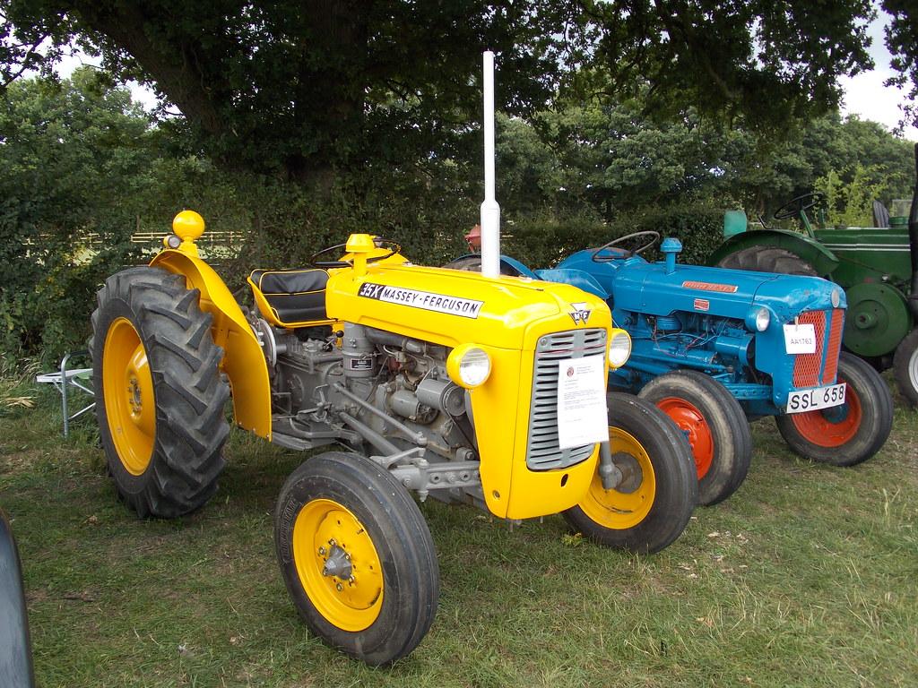 1963 Massey-Ferguson 35X Industrial tractor   Cranleigh Clas