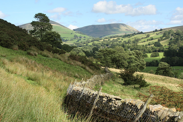 Rawthey Valley, Howgill Fells near Sedbergh, Yorkshire Dales National Park, Cumbria, UK
