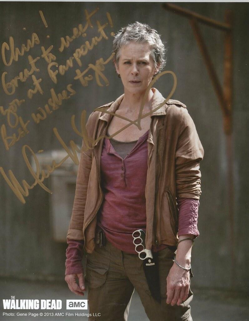 Melissa McBride Carol Walking Dead