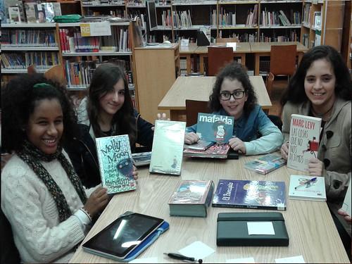 Club de lectura juvenil: 1ª sesión de ElClú 2014 | by Bibliotecas Municipais da Coruña