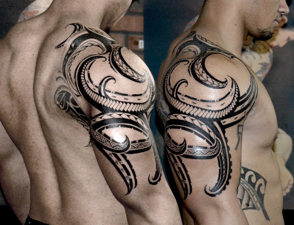 Custom Samoan Tattoo Custom Tattoo Tasi Melah Flickr