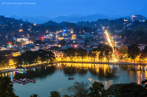 bridge mountain tree colors horizontal night outdoors photography long exposure cityscape illuminated unescoworldheritagesite celebration sri lanka srilanka spirituality kandy scenics wesak traveldestinations colorimage traditionalfestival srilankanculture