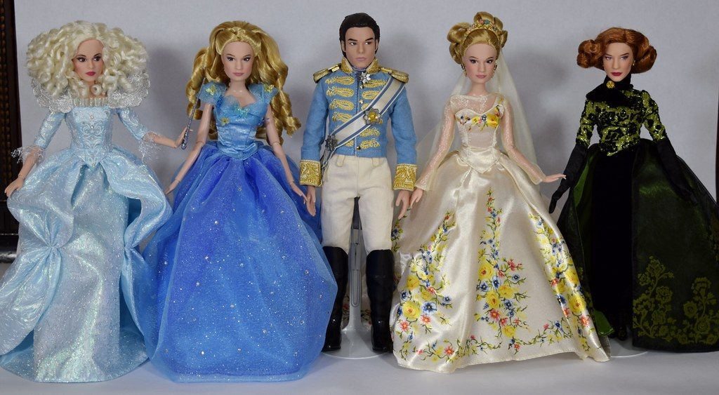 Complete Set of Disney Cinderella Movie Dolls - Disney Store