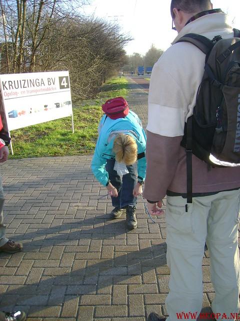 W.S.V.de Trekvogels 09-02-2008 15 Km  Apeldoorn (1)