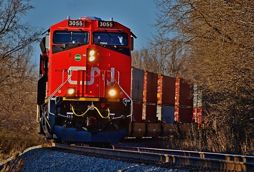 new sunset sunlight electric wisconsin cn shiny paint general jacob 4 canadian stack national waukesha curve ge brand freight tier t4 gunderson intermodal pewaukee 3055 duplainville