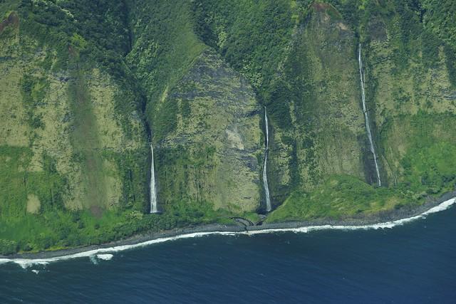 North Coast of Hawaii Waterfalls