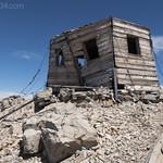 Old fire lookout on Divide Mountain