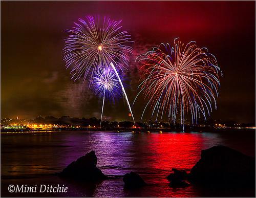 fireworks fourthofjuly 4thofjuly independenceday pismobeach shellbeach fireworksdisplay pismobeachfireworks