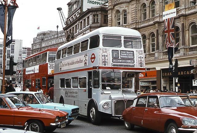 SRM13, Silver Jubilee Routemaster, June 1977