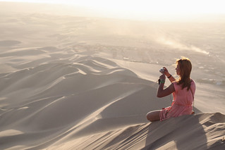 Sunset on the Dunes, Ica | by Geraint Rowland Photography