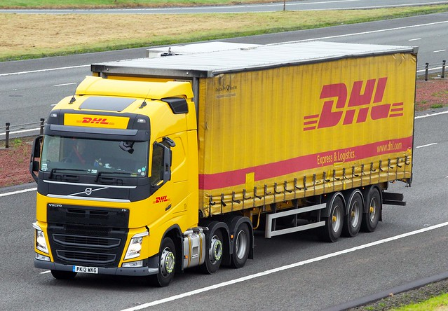 Volvo FH new look PK13 WKG - DHL