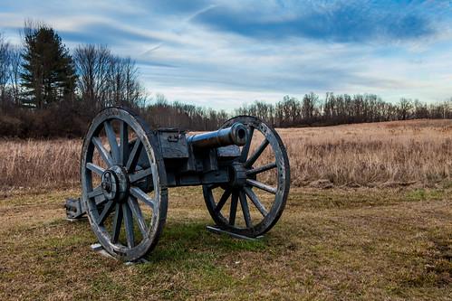 ny newyork field america river army war saratoga continental battle independent american cannon artillery british hudson battlefield revolutionary