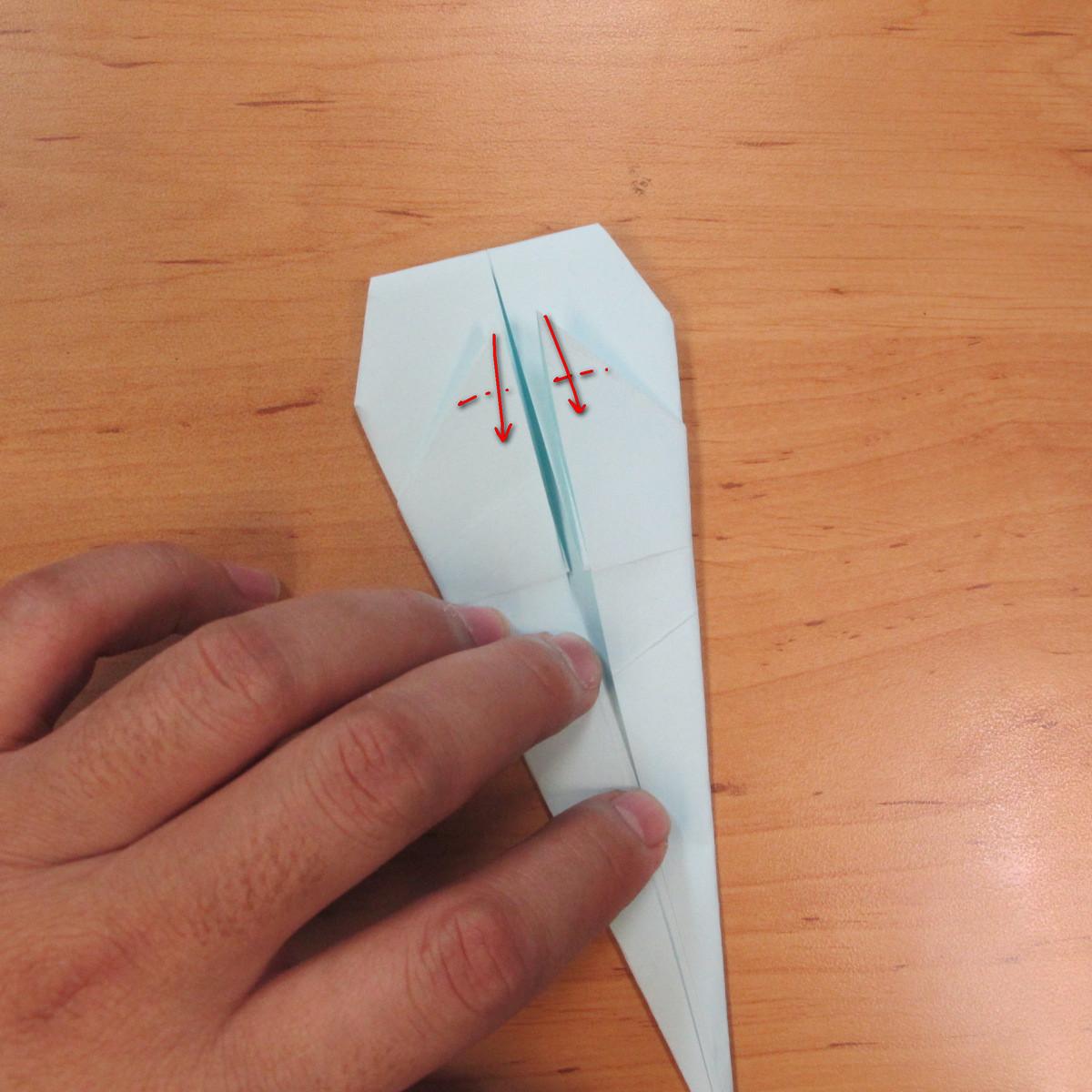 วิธีพับกระดาษเป็นรูปผีน้อย 011